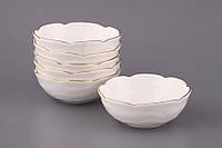 Набор керамических розеток Бланко 10см 6 шт Lefard 264-536