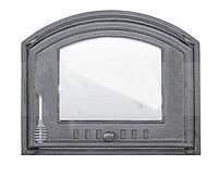 Чугунные дверцы для печей 410x485 DCHS4