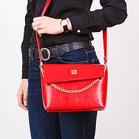 Красная маленькая сумочка женская модная №1367redn