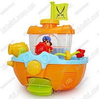 Детская игрушка для ванной Пиратский Корабль