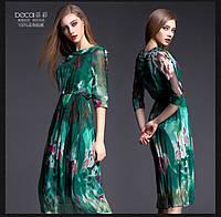 Легкое яркое платье, два цвета