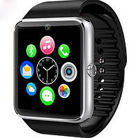 Умные часы Smart CYUC GT08 Silver для iOS/Android (Smart watch)