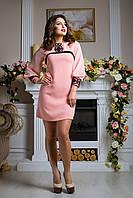 Восхитительное женское платье Luzana -20481 персик