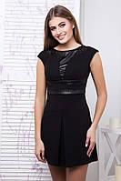 Молодежное  платье Тату черный