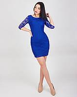 Эфектное платье приталенное платье