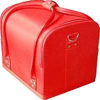 Чемодан для мастера красный ткань 2700-1BB YRE, кейс для косметики купить в интернет-магазине