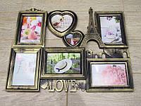 """Фоторамка на стену для декора """"Я Люблю Париж"""""""
