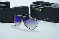 Солнцезащитные очки  Porsche Design с синими линзами