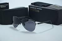 Солнцезащитные очки  Porsche Design  черные капли
