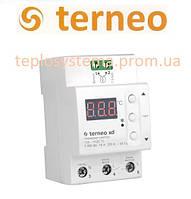 Терморегулятор для  систем охлаждения и вентиляции Terneo xd (на DIN-рейку), Украина
