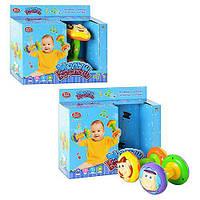 Развивающая игрушка - Погремушка JOY TOY 7186 Малыш Крепыш