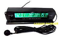 Часы с выносным термометром и вольтметром VST 7013Vдля автомобиля