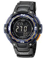 Часы casio-sgw-100-2bcf с компасом и термометром черный экран (оригинал) SKU0000215