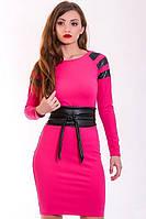 Яркое модное женское платье, фото 1