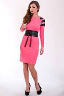 Красивое розовое платье модного дизайна, фото 1