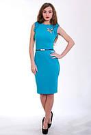 Яркое летнее платье с оборками, фото 1