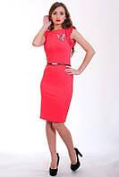Платье декорировано термо апликацией, фото 1