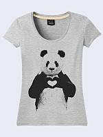 Футболка Панда с сердцем