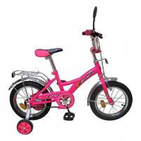 """Велосипед  детский 16""""   розовый"""