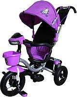 Детский трехколесный велосипед Mini Trike на надувных колесах с капюшоном LT960-2