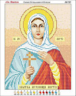 Святая Марта. Икона для вышивки бисером. Основа для вышивания