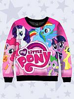 Модный детский свитшот Friendship is Magic (My Little Pony) из качественного трикотажа для девочек.