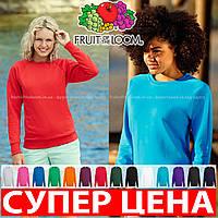 Женская приталенный легкий реглан свитер без начеса 62-146-0