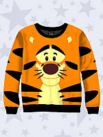 3D-свитшот Тигра с красочным рисунком.