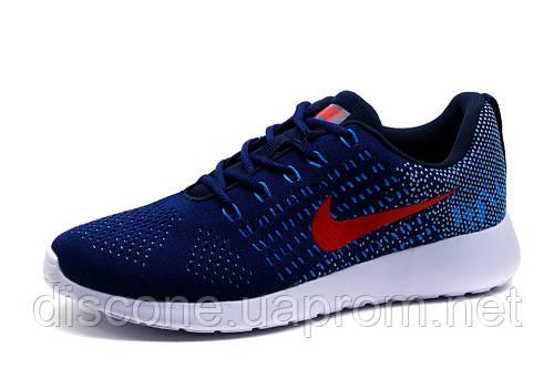 Кроссовки унисекс Nike Free Flyknit, синие, р. 36 37 39