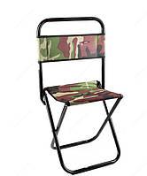 Большой стул со спинкой, стул для рыбалки, до 130 кг, стул для отдыха, пикника, пригодится на даче, отличный