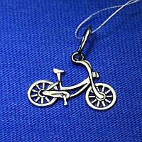 Серебряная подвеска на шею Велосипед 30032-ч