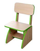 Детский стульчик растущий салатовый. F43