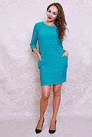 Очень красивое модное платье из трикотажного жаккарда