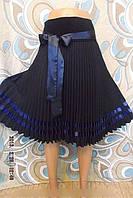 Женская юбка  плиссированная евро длина