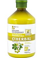 Бальзам-кондиционер O'Herbal для вьющихся и непослушных волос 500 мл. (арт. 5901845500555)