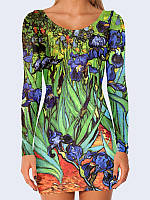 Платье Vincent van Gogh Irises