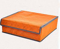 Органайзеры для хранения бюстгалтеров на 7 ячеек оранжевый