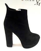 Ботильоны-ботинки на толстом каблуке Liici Li0006