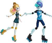 Куклы Монстер Хай  Лагуна Блю и Гил Веббер  на роликах (Monster High Lagoona Blue and Gil Weber Wheel Love )