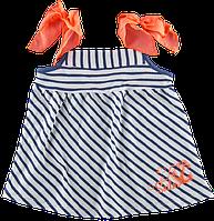 Детская летняя майка Ляля МОРЯЧКА для девочки (от 3 до 4 лет)