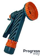 Пистолет (5 позиций орошения) цанга 1/2  Украина