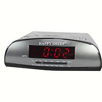 Часы радио будильник с LCD KK 9905 AM-FM
