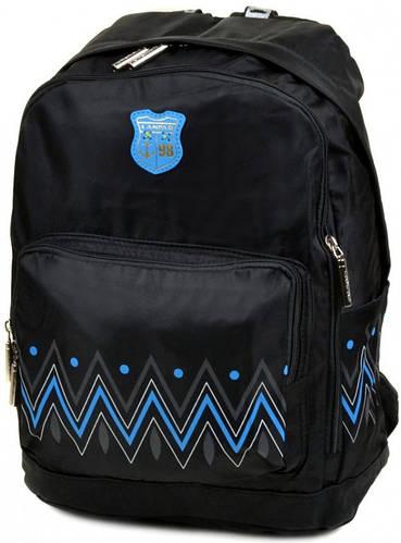 Прекрасный городской рюкзак с отделением для ноутбука текстиль Lanpad 23 л. 1500-1 black