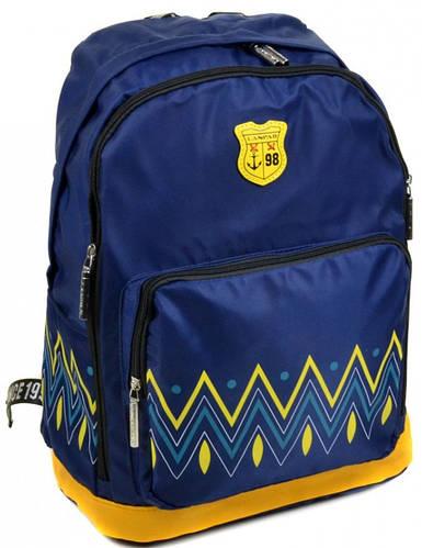 Оригинальный городской рюкзак с отделением для ноутбука текстиль Lanpad 23 л. 1500-2 blue