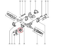Втулка крепления рулевой рейки Рено Кенго без ГУР (4х2) 97-> PROTEGO (Польша) 10512J