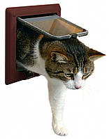 Trixie Дверца для кошки, 4 позиции с тоннелем