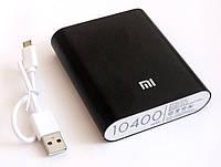 Универсальная батарея - Xiaomi power bank 10400 mAh, black