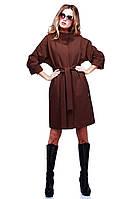 Классическое пальто с воротником-стойкой