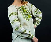 Женские вышиванки. Вышиванки из льна