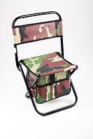 Стул SWD 8709033, стул для рыбалки, складной стул со спинкой, с сумкой для аксессуаров, удобный стул для отдых